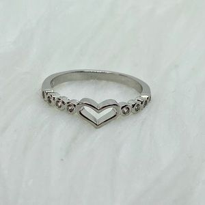Jewelry - Sterling Silver 925 Heart Ring